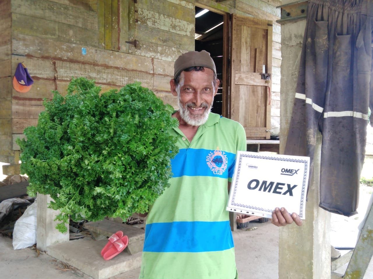 OMEX delivers big smiles